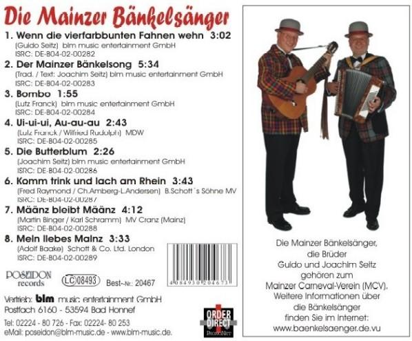 Mainzer Hofsänger Termine